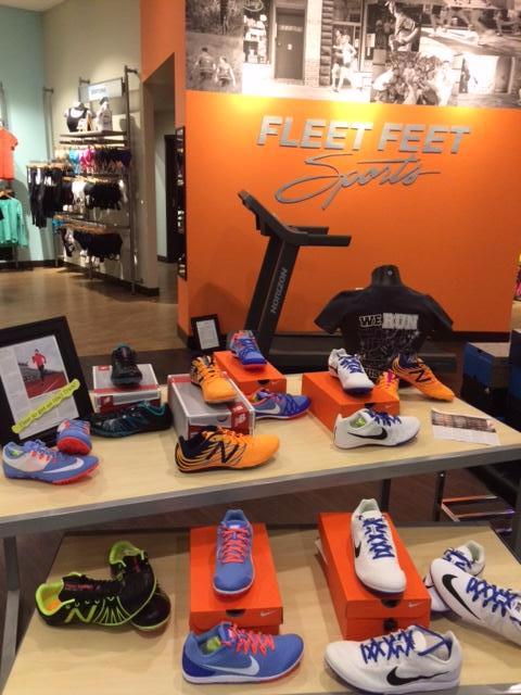 Track & Field Spikes at Fleet Feet Sports Madison & Sun Prairie