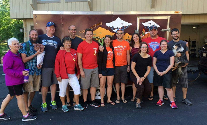 Team 242 Dave Browne Ride sponsored by Fleet Feet Sports Madison