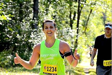 My First Ultra Marathon Blog Post by Amy B.  Fleet Feet Sports Madison