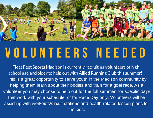 Allied Running Club Volunteers