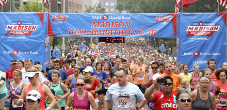 Free pub run with the race director of the Madison Mini Marathon & 5K
