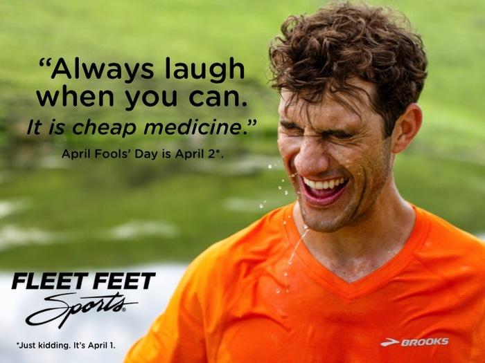 Always Laugh-Fleet Feet Sports Madison & Sun Prairie