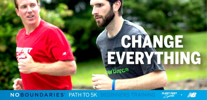 New Balance No Boundaries Training at Fleet Feet Sports Madison & Sun Prairie