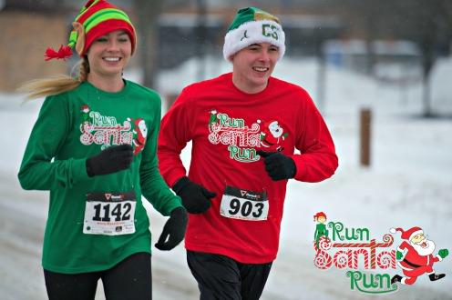 Run Santa Run 5K Madison WI Sponsored by Fleet Feet Sports Madison