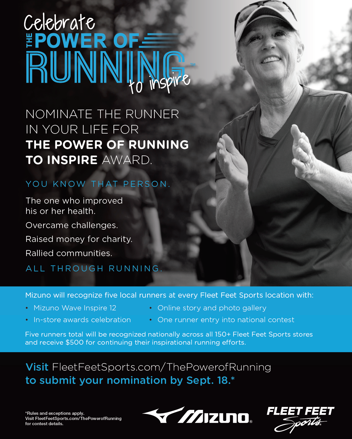 The Power of Running to Inspire at Fleet Feet Sports Madison & Sun Prairie