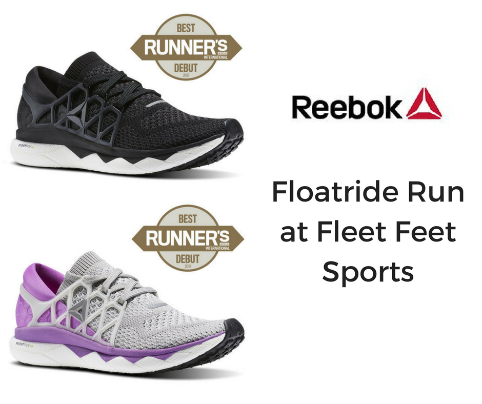 Reebok at Fleet Feet Sports Madison & Sun Prairie