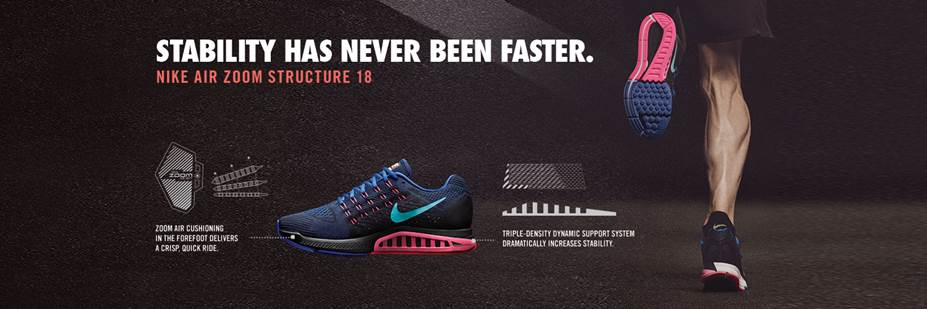 Nike Air Zoom Structure 18 at Fleet Feet Sports Madison & Sun Prairie
