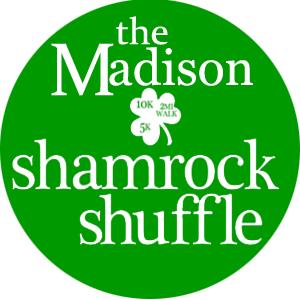 Madison Shamrock Shuffle Logo