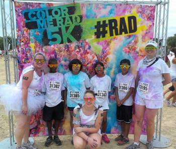 Color Me Rad-Allied Running Group Madison WI