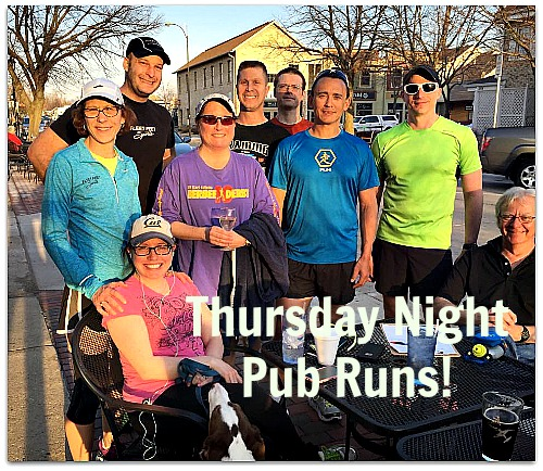 Weekly Pub Runs with Fleet Feet Sports