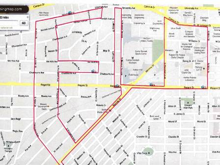Map Fleet Feet Sports Madison Training
